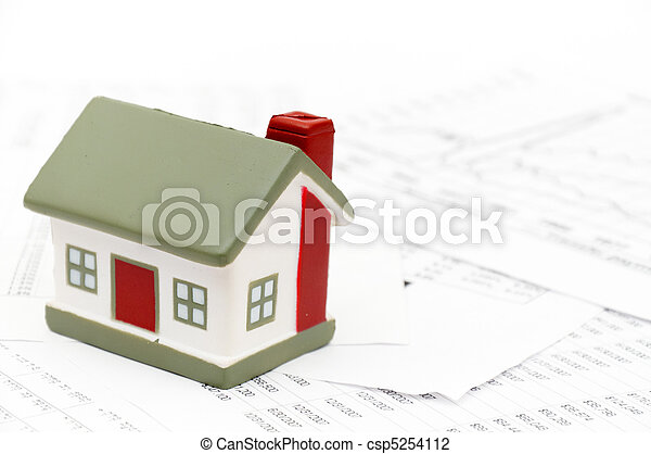 Model of a house - csp5254112