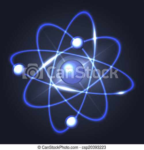 Model of abstract atom structure vector illustration model of abstract atom structure vector ccuart Images