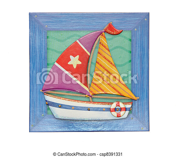Model of the boat - csp8391331