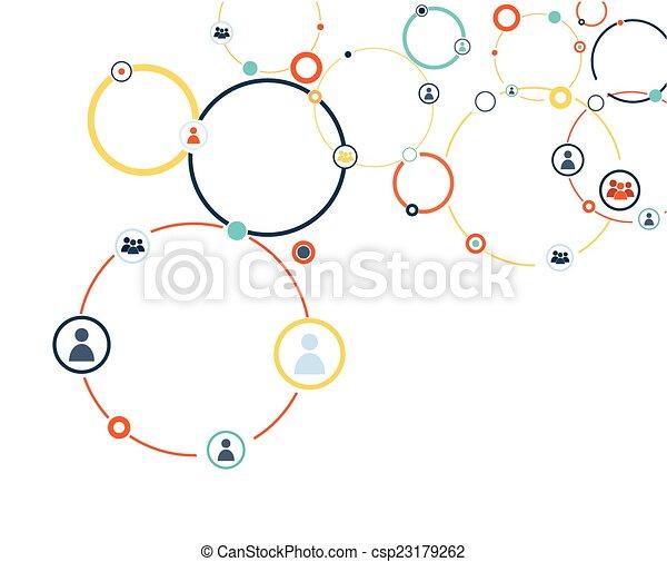 model, verbinding, menselijk - csp23179262