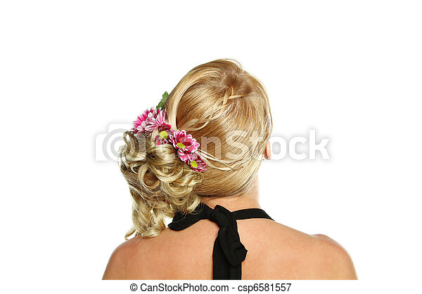 Model with luxuriant hair - csp6581557