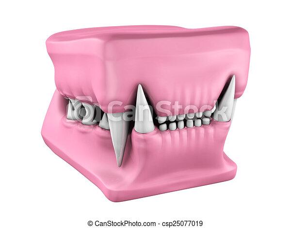 Modell Tänder Cast 3 Katt