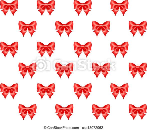 modello, seamless, archi, rosso - csp13072062
