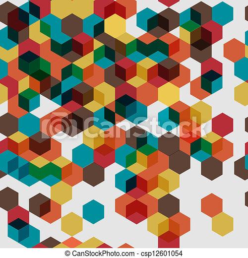 modello, seamless, colorito - csp12601054