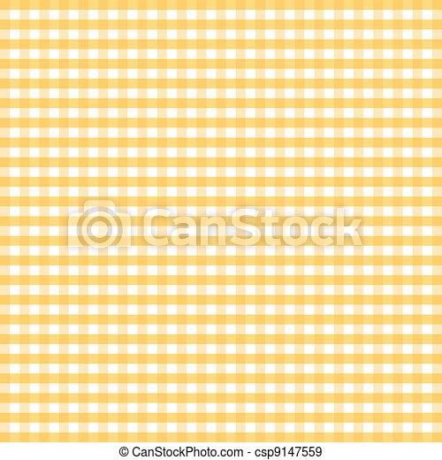 modello, seamless, percalle, giallo - csp9147559