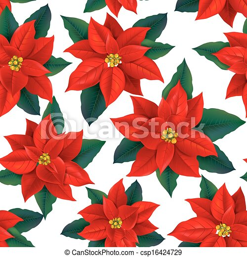 Stella Di Natale Cartamodello.Modello Seamless Stella Di Natale Rosso