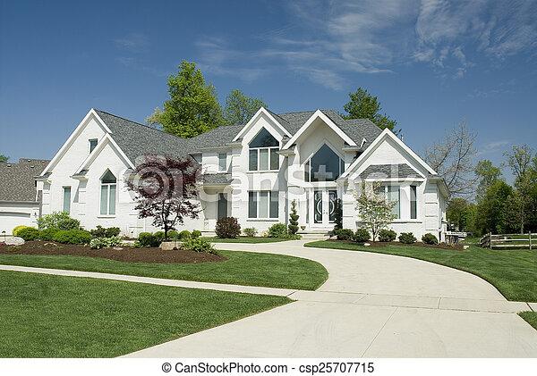 modern, épület - csp25707715