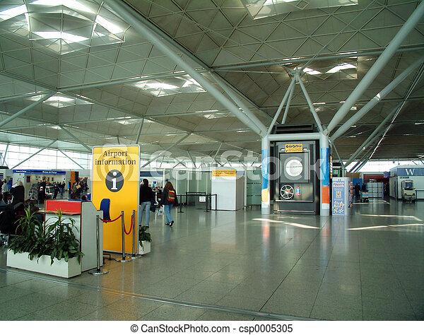 Modern Airport - csp0005305