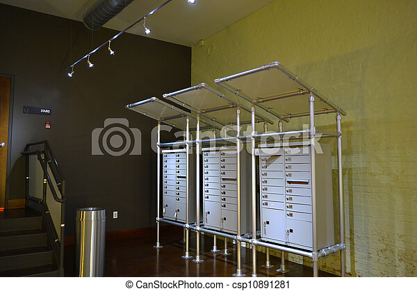 Apartment Mail Boxes Apartment Mailboxes stock photo Image of ...