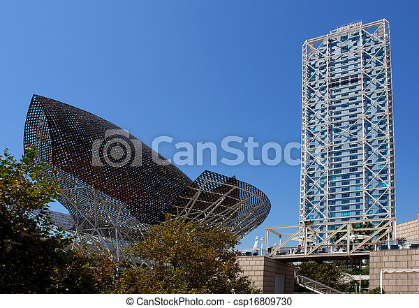 Modern Architecture At Barcelona Olympic Port