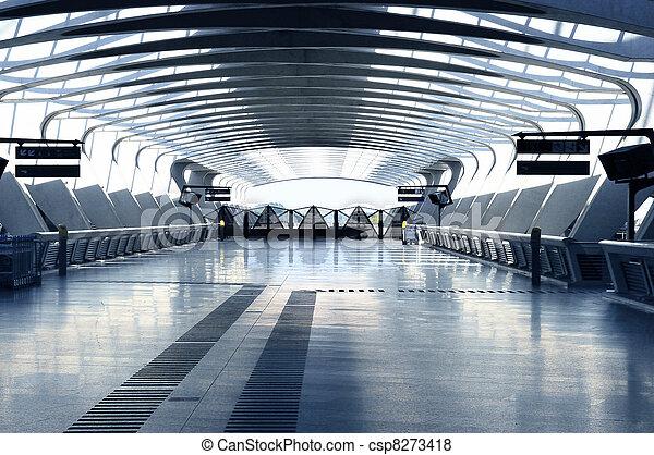 Modern architecture hall - csp8273418