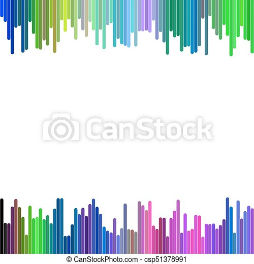 Modern background design from vertical rounded stripes - abstract ...
