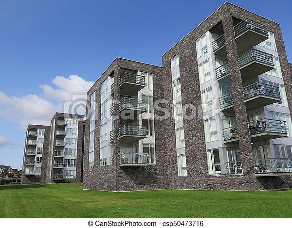 Modern blocks of flats csp50473716