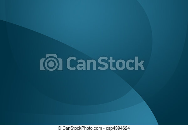 Modern blue wallpaper / background - csp4394624