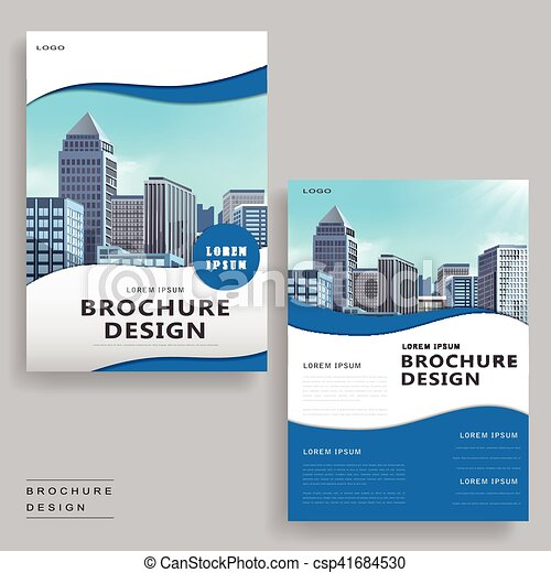 modern brochure design contemporary brochure template design with