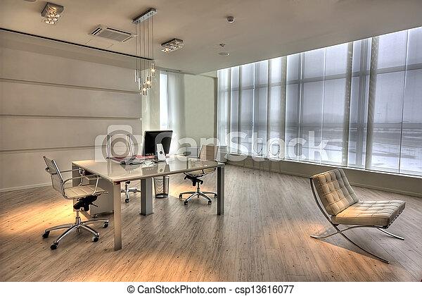 Modernes Büro - csp13616077
