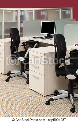 Modernes Büro - csp5904287