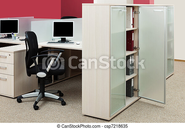 Modernes Büro - csp7218635