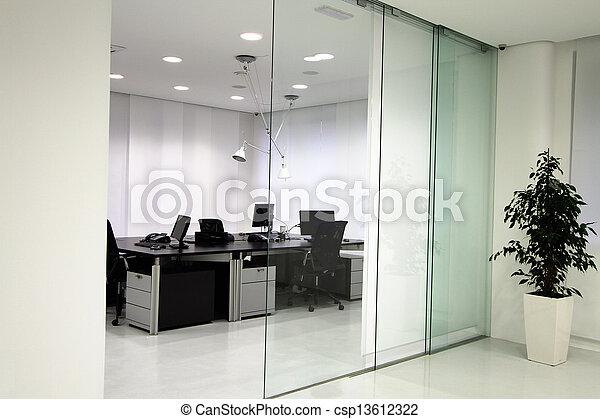 Modernes Büro - csp13612322