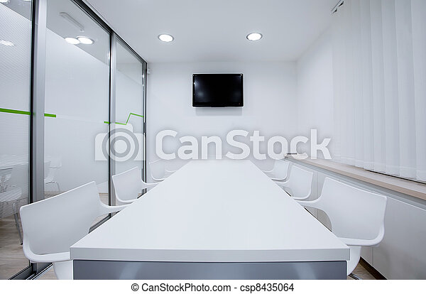 Modernes Büro - csp8435064