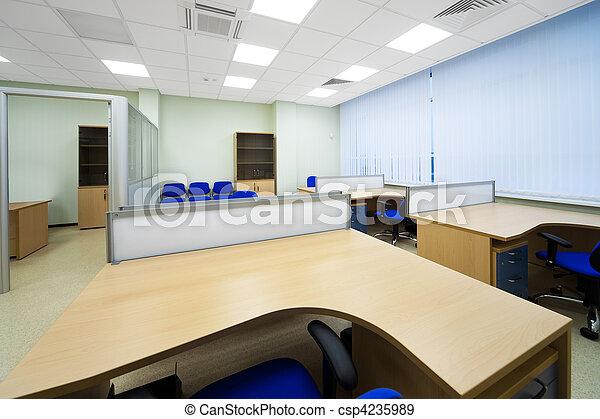 Modernes Büro - csp4235989