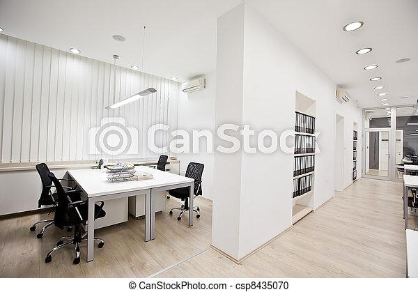 Modernes Büro - csp8435070