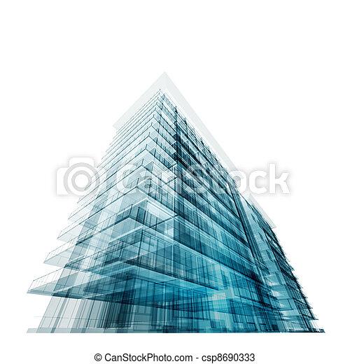 Modernes Büro - csp8690333