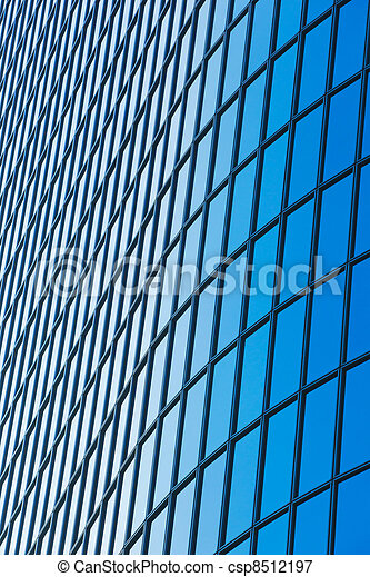 Modern Building Abstract Detail - csp8512197