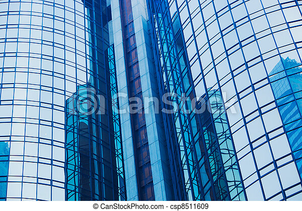 Modern Building Abstract Detail - csp8511609