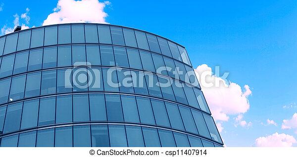 modern building closeup - csp11407914