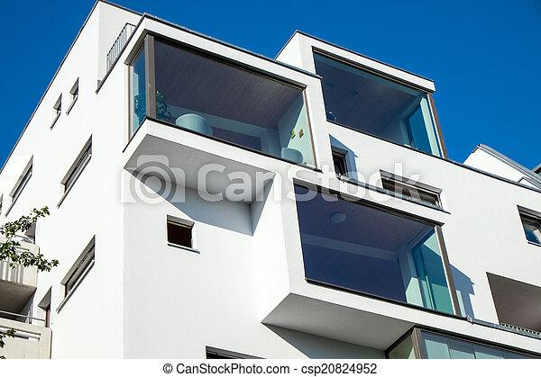 Modern building in Berlin - csp20824952