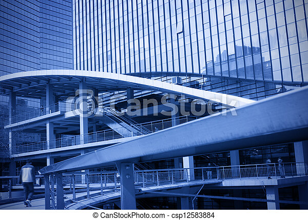 Modern building - csp12583884