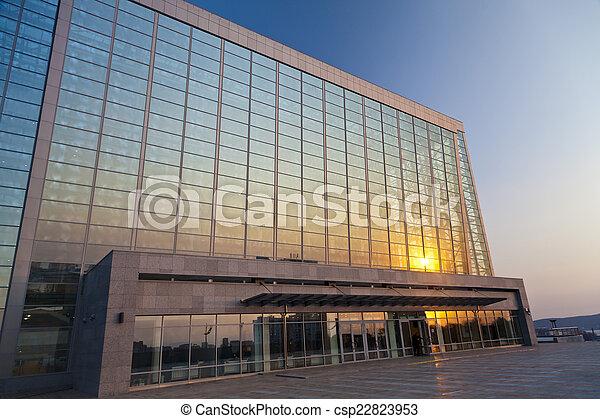 Modern building - csp22823953