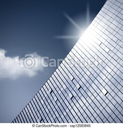 Modern building - csp12583845