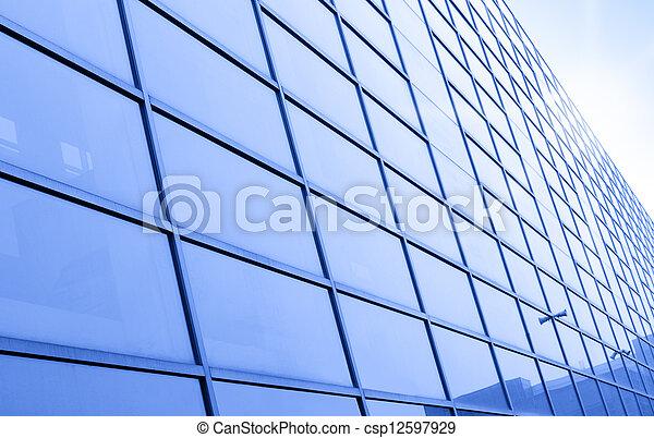 Modern building - csp12597929