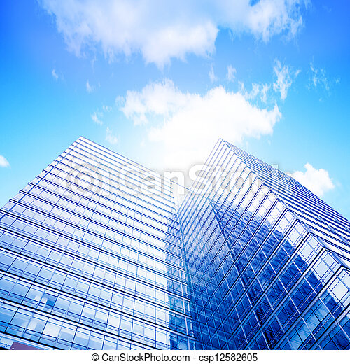 Modern building - csp12582605