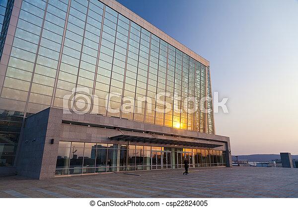 Modern building - csp22824005