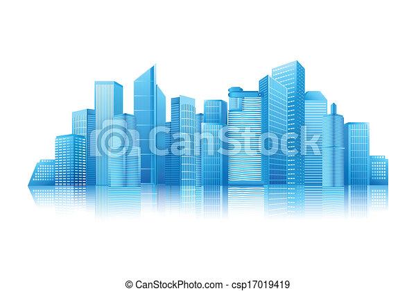 Modern Building - csp17019419