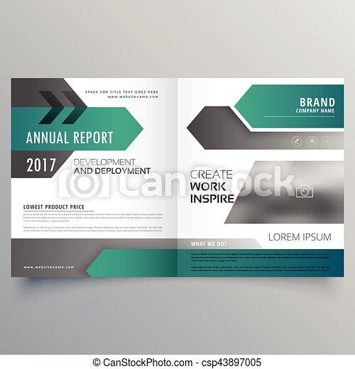 modern business brochure booklet design