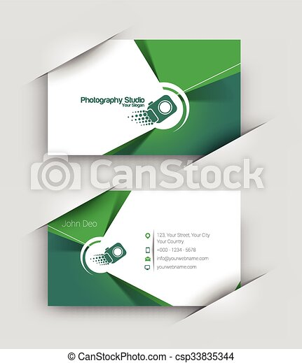 Modern business card set modern business card vector template modern business card set csp33835344 reheart Gallery