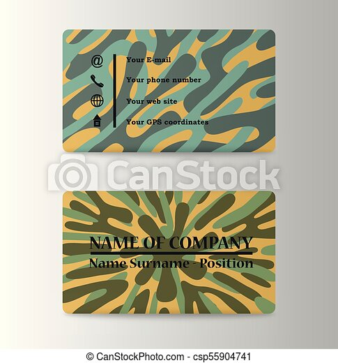 Modern business card template eps vector search clip art modern business card template csp55904741 cheaphphosting Gallery