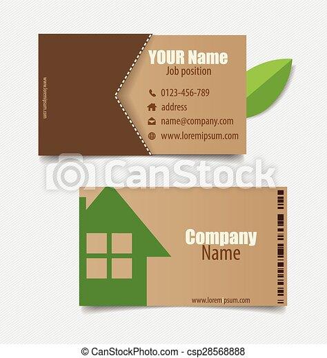 Modern business card template vector design editable friedricerecipe Gallery