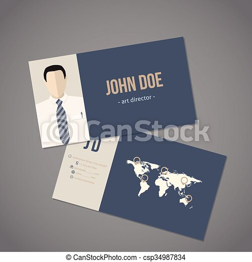 Modern business card with world map on wedding maps, social media maps, wallpaper maps, business map maker, full page maps, business cards old world, envelope maps, tract maps,