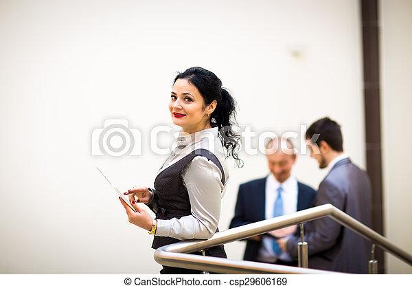 modern businesswoman  - csp29606169