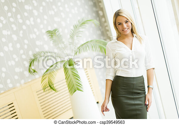 Modern businesswoman - csp39549563