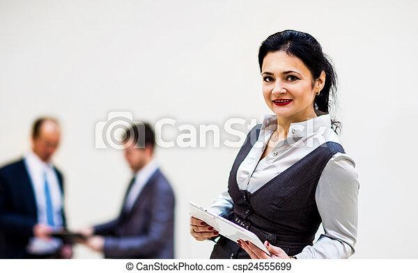 modern businesswoman - csp24555699