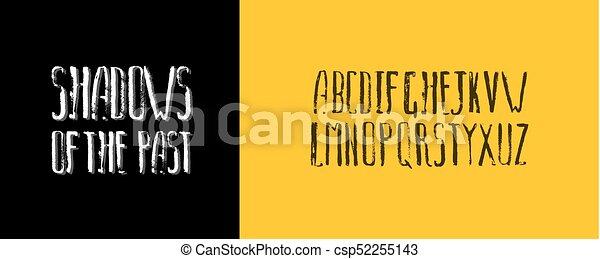 Modern calligraphy alphabet handwritten brush letters hand modern calligraphy alphabet handwritten brush letters hand lettering font for your design wedding m4hsunfo