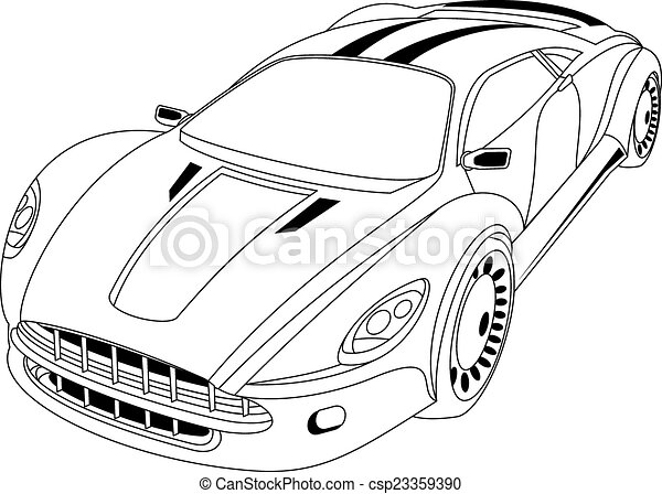 Modern Car Abstract Modern Car Perfect For Car Advertising Auto