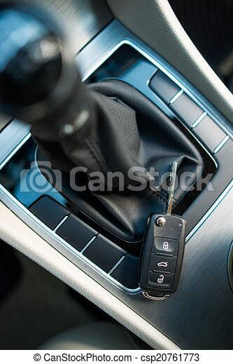 Modern Car Keys - csp20761773