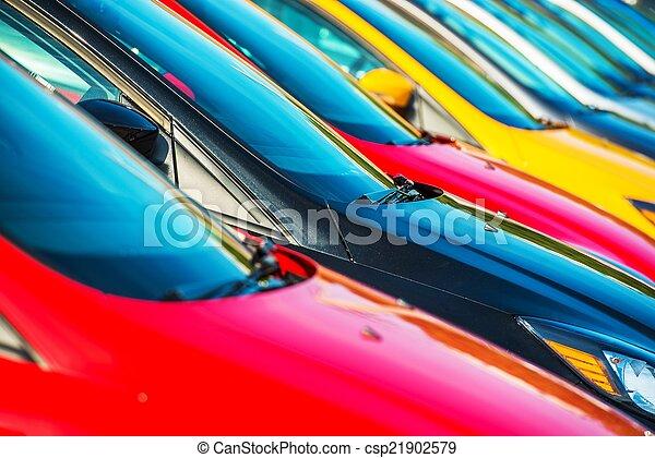 Modern Cars Stock - csp21902579